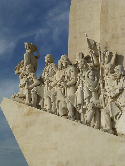Soutien, monumento das Descobertas, Lisbonne