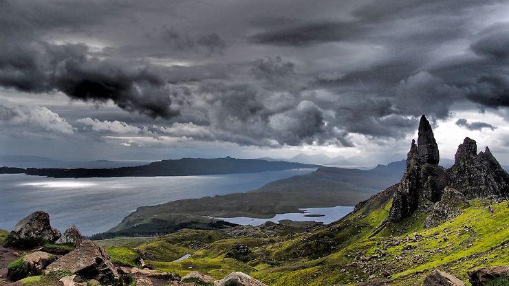 L'Écosse telle qu'on l'imagine, Île de Skye, par maellebeziau