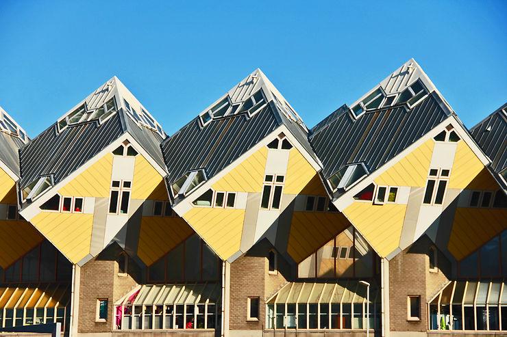 Les maisons-cubes - Rotterdam, Pays-Bas