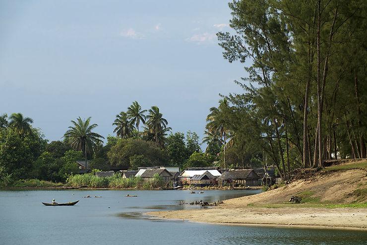 Le petit port de pêche de Manakara