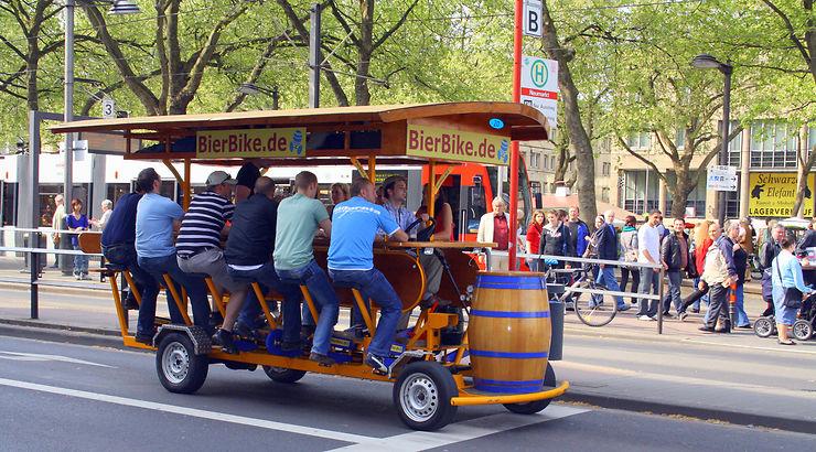 Bierbike - Allemagne