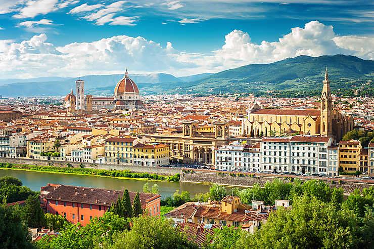 Florence et la campagne toscane (Italie)