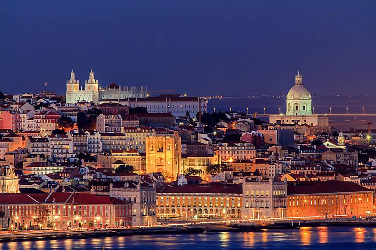 Lisbonne : les lumières de la ville