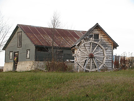 Belle grange à Amqui