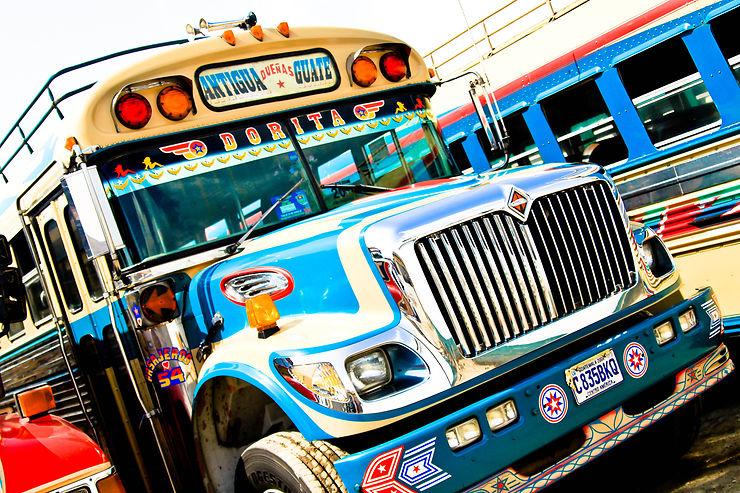 Chicken Bus - Amérique Centrale