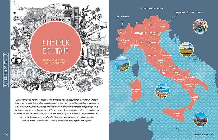 Le meilleur de l'Italie réuni dans un beau livre !