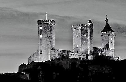 Château de Foix du XII siècle