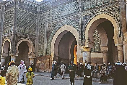 Porte de la place El Hedim, Meknès