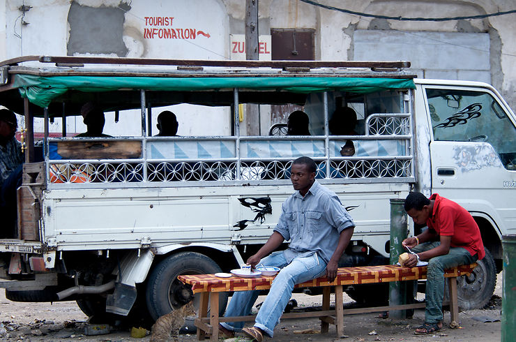 Dala dala - Zanzibar