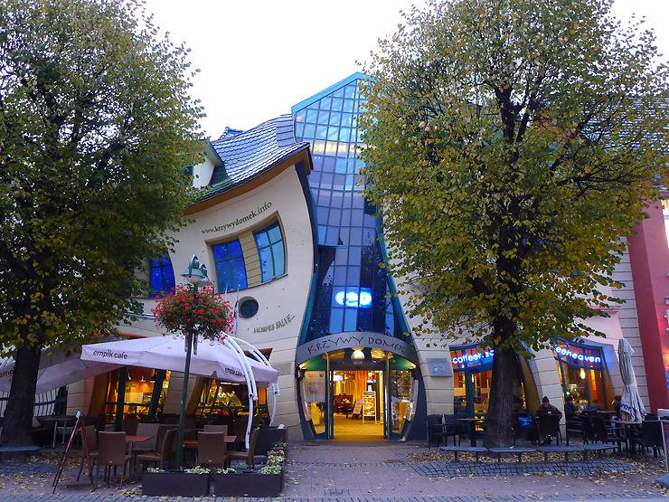 La maison tordue (Krzywy Domek) - Sopot, Pologne
