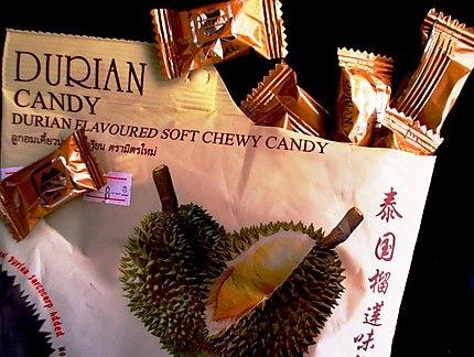 Bon'bon à savoir (bonbons au durian)