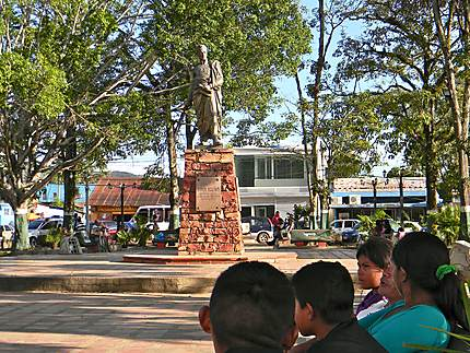 Santa Elena de Uairen - Parc central