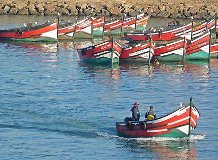 El Jadida - Retour au port