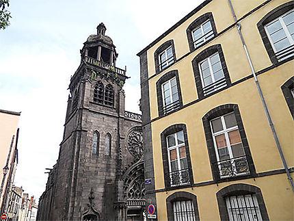 Riom. Eglise Notre-Dame du Marthuret