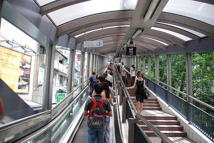 Escalator - Hong Kong