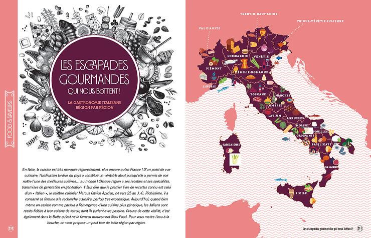 5 thèmes et 60 chapitres pour explorer l'Italie