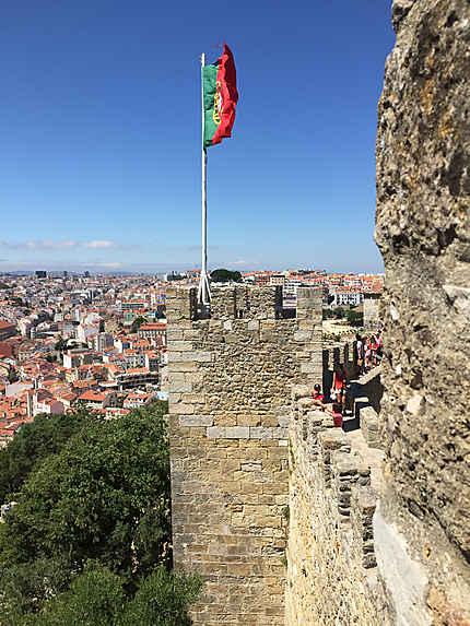 Château St-George, Lisbonne