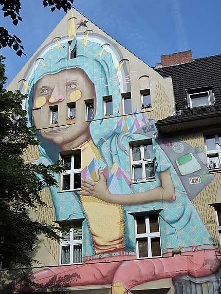 Street art Kiefernstrasse