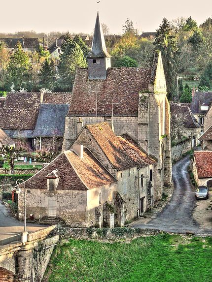 Eglise d'Angles-sur-l'Anglin