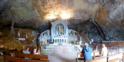 Grotte de la ste Baume plan d'Aups