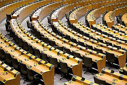 Bruxelles - Parlement Européen - Hémicycle