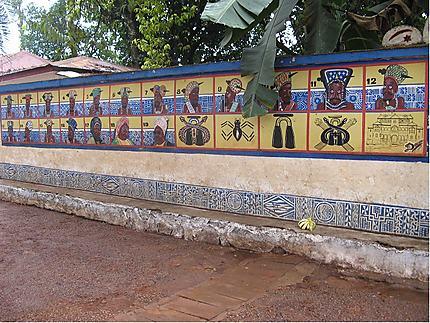 Entrée du Palais des Sultans Bamouns