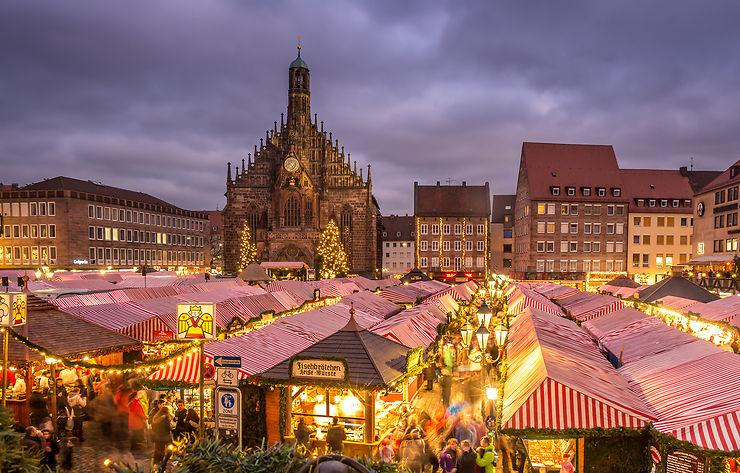 Marché de Noël de Nuremberg (Christkindlesmarkt)