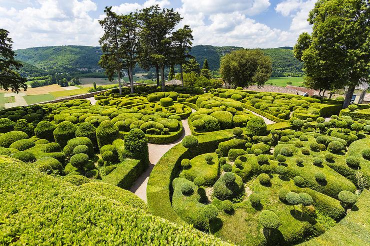 Les jardins suspendus de Marqueyssac et leur panorama sur la Dordogne