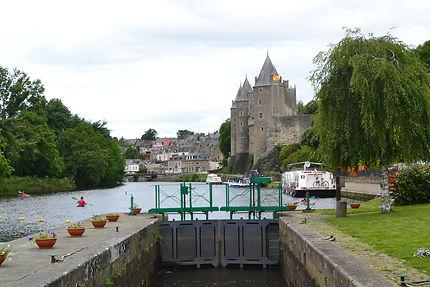 Le château de Josselin, Morbihan