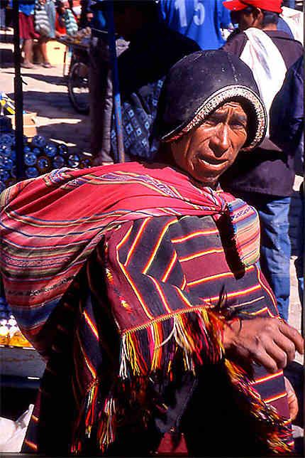 Sur le marché de tarabuco