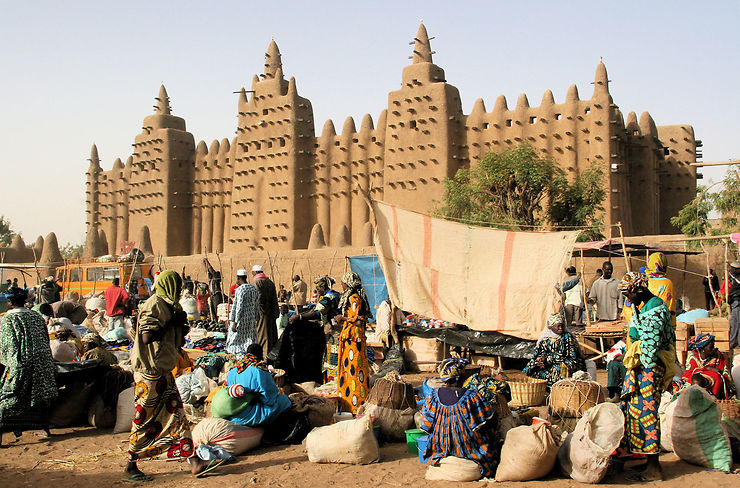 Grande Mosquée de Djenné - Mali