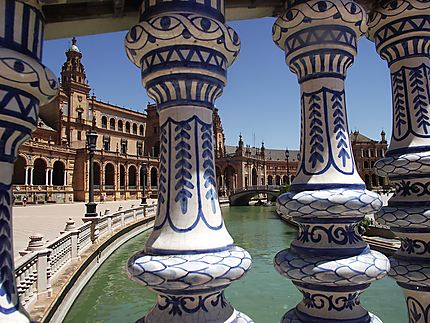 Vue sur la place d'Espagne