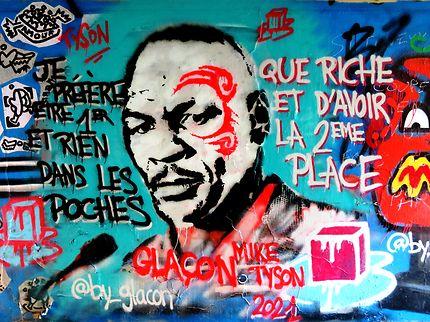 Art street MikeTyson (Glaçon)