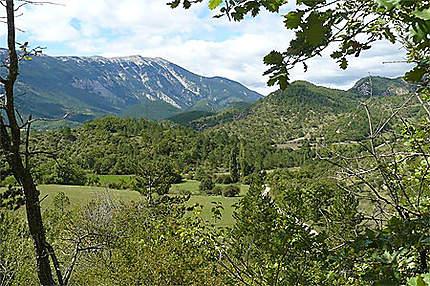 Le Mont Ventoux vu de Brantes
