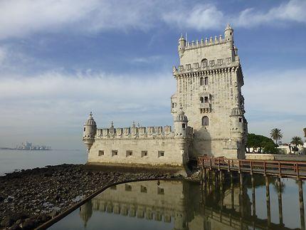 Marée basse à Belém