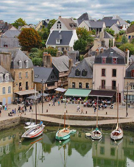 Le port de Saint Goustan