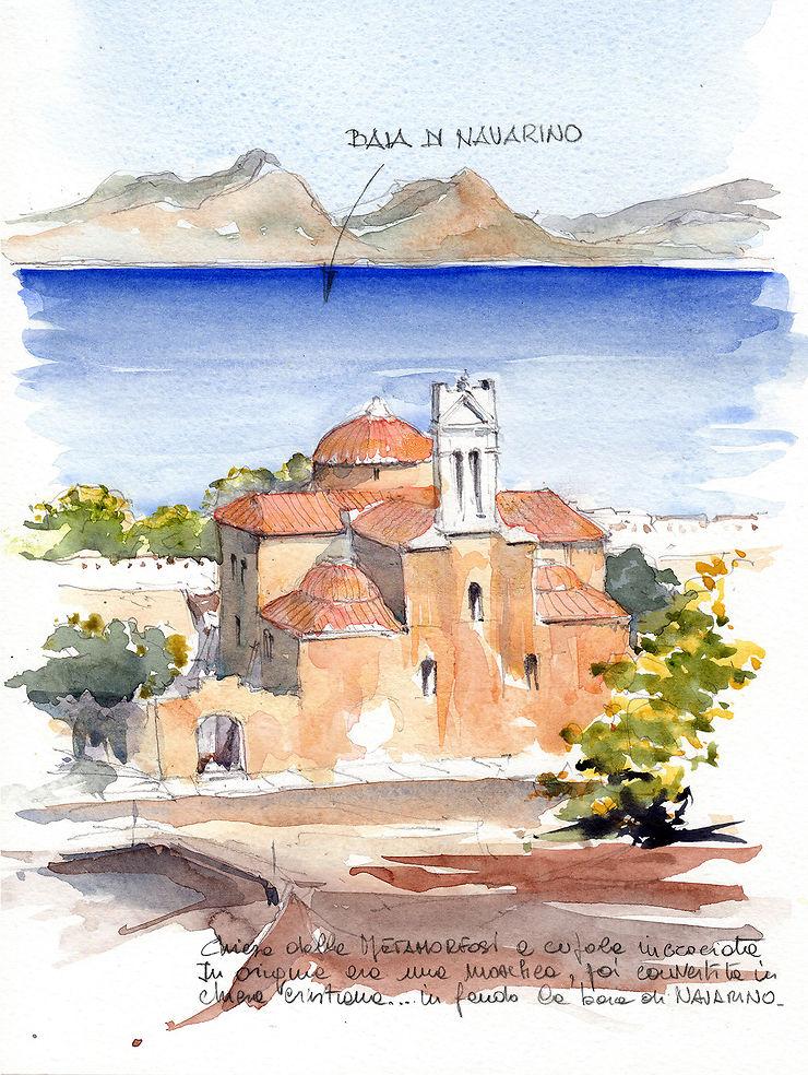 Baie de Navarino, Grèce