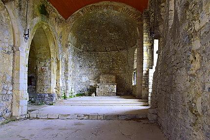 L'intérieur de l'église Saint-Félix