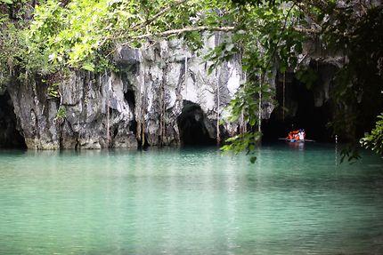 Under ground river, la rivière souterraine