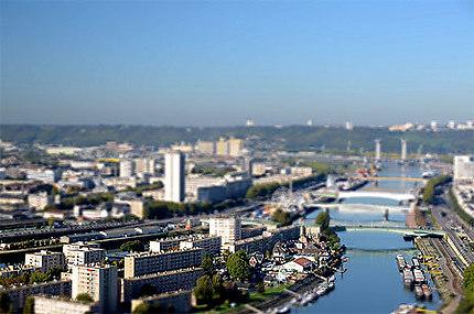 Rouen miniature - L'île Lacroix