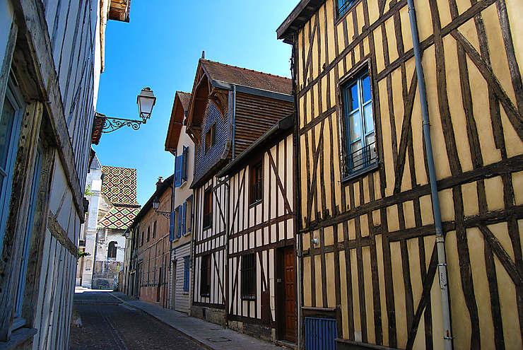 Le vieux Troyes (Aube)
