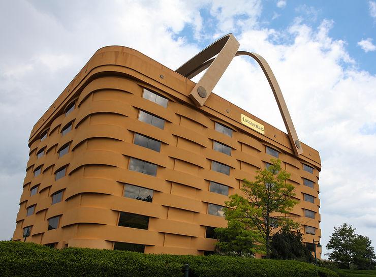 Basket Building - Newark, Ohio, USA