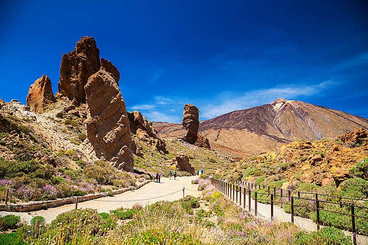 Ténérife et le Pico del Teide (Canaries)