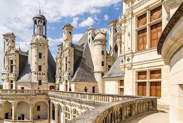 Chambord et les châteaux de la Loire (Indre, Indre-et-Loire, Loir-et-Cher, Loiret, Maine-et-Loire)