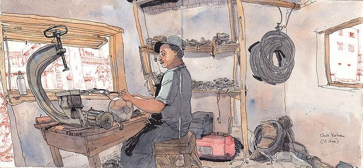 Artisan à Madagascar