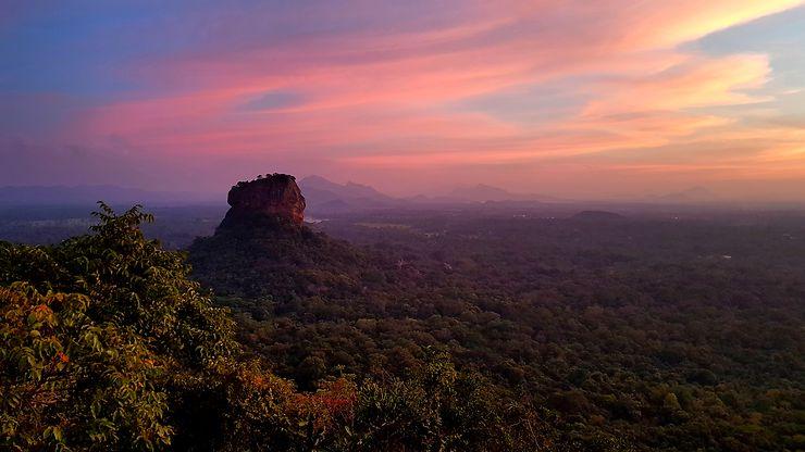 Lion's rock, Sri Lanka