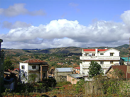 Le plateau d'Ambositra