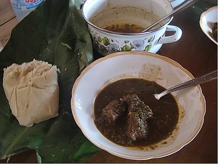 Couscous sauce gombo
