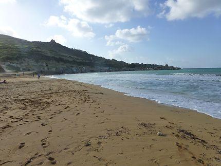En regardant vers le sud (Gnejna Bay)