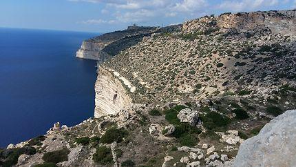 Falaises de Dingli, au sud de Malte